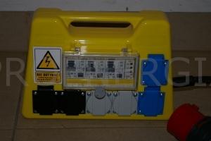 """32A Rozdzielnia """"żółta R"""" 32//6x1f16"""